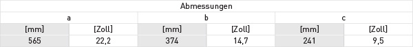 optisonic_6300_p-koffer-abmessungen-tabelle